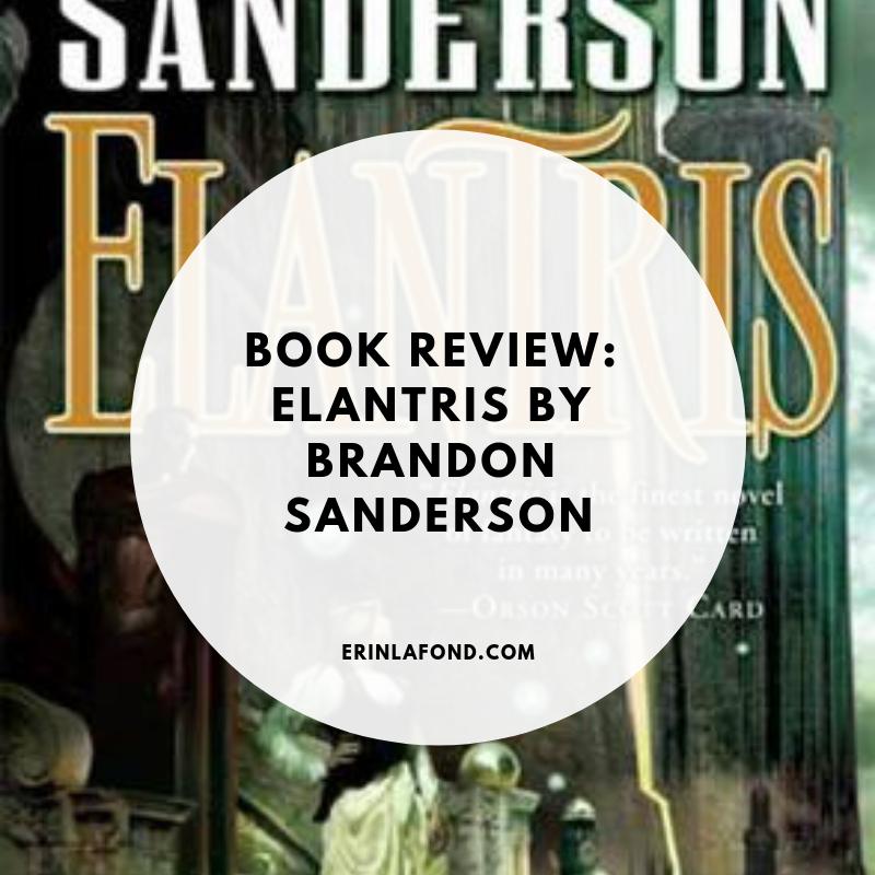 book review, elantris by brandon sanderson