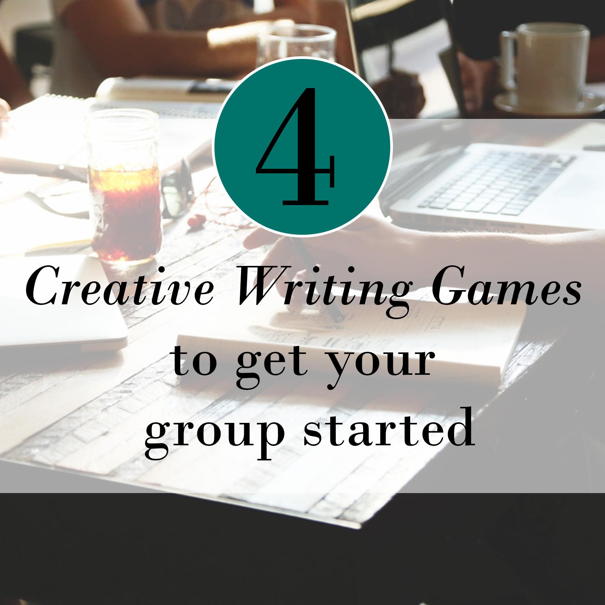 4 Creative Writing Games