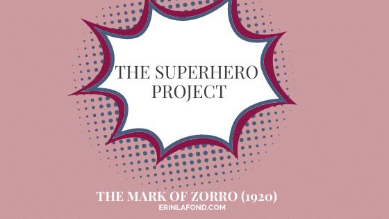 the mark of zorro 1920