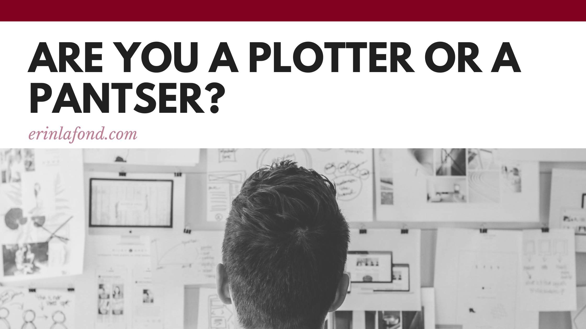 Plotter or Pantser